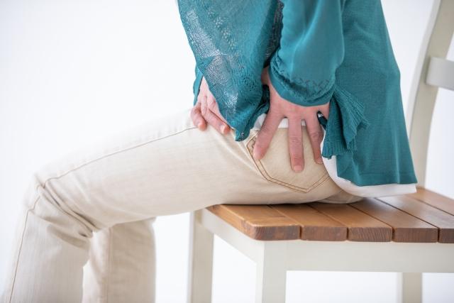 股関節の歪みが原因で痛み